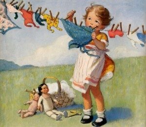 Dreaming of an Old Fashioned Clothesline