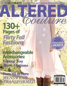 I'm in Altered Couture and Romantic Homes magazines! My blogging journey