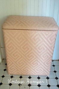 Vintage Laundry Hampers:Beauty For The Boring