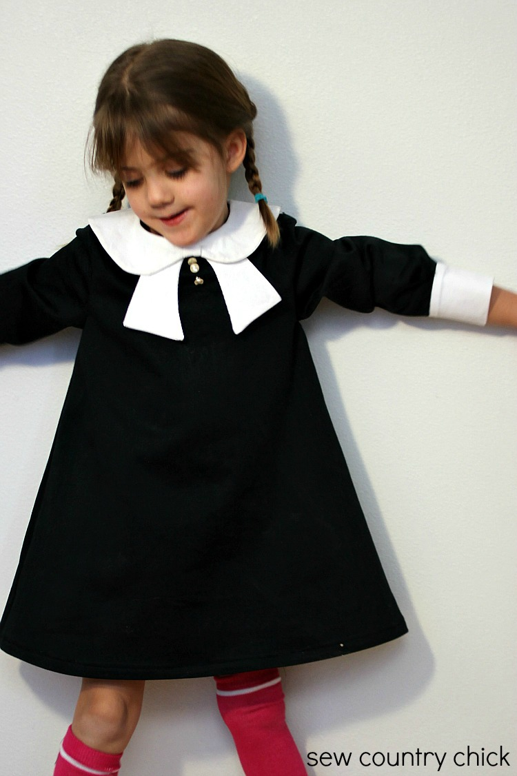 The Norah Dress Inspired by Wednesday Addams