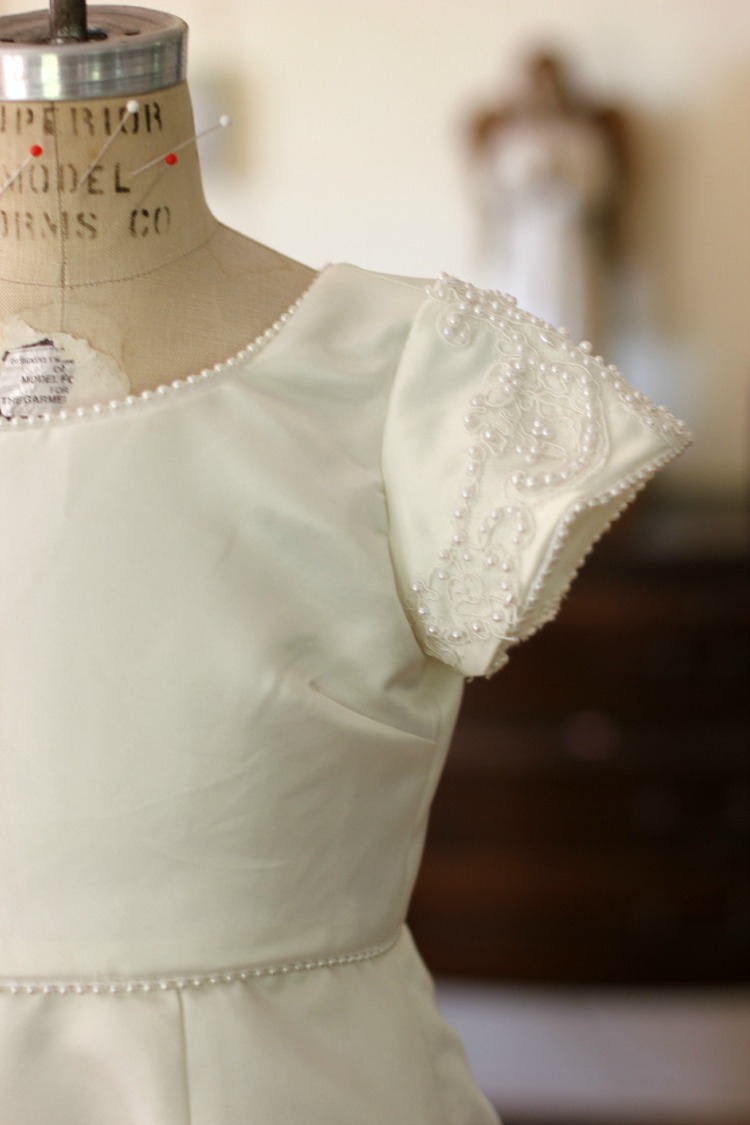 Sew Wedding Dress 89 Lovely First Communion Dress Upcycled