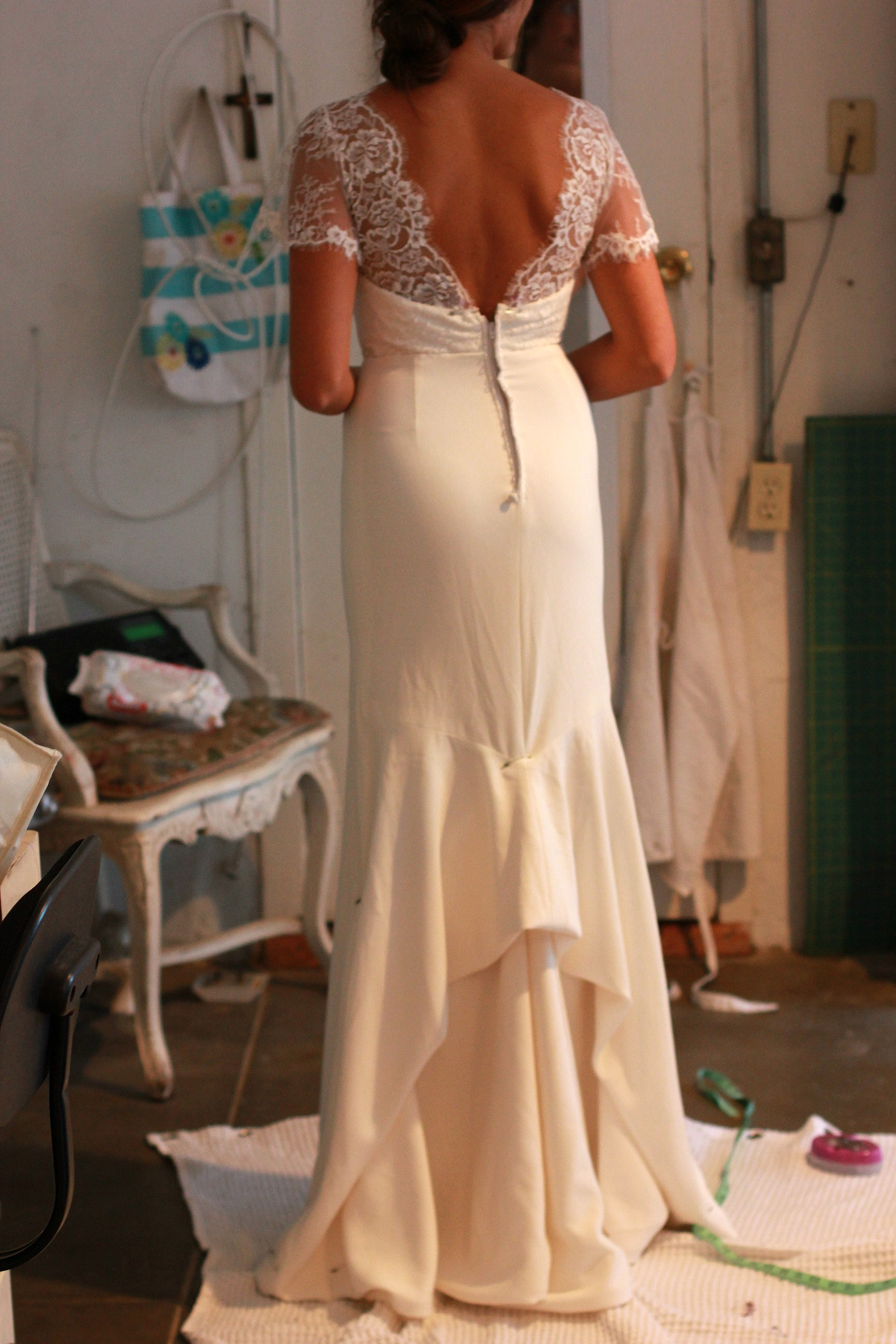 Sew Wedding Dress 65 Nice Sewing A French Bustle