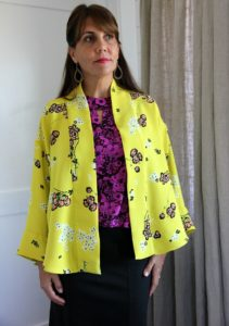 Lisette For Butterick 6464. Top, skirt, and jacket ensemble completed!